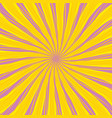 sun theme abstract background vector image