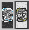 tickets for cinema festival vector image vector image