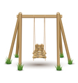 Wood swing vector | Price: 1 Credit (USD $1)