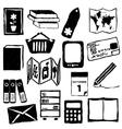 bookshop doodle images vector image