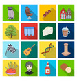 business trade tourism and other web icon in vector image vector image