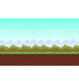 Cartoon Game Background vector image vector image