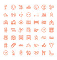 child icons vector image vector image