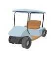 Golf car cartoon icon vector image vector image