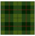 Green Tartan Cloth Design vector image vector image