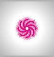 lotus flower image symbol vector image vector image