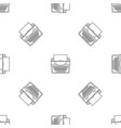 new typewriter icon outline style vector image vector image