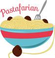 Pastafarian vector image