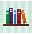 Book icon design vector image vector image