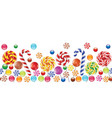 Candies background vector image vector image