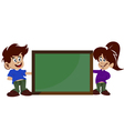 childrens and board vector image vector image