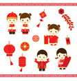Chinese New Year cartoon vector image vector image