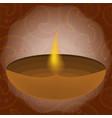 diwali festival of lights vector image