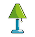 house lamp isolated icon vector image