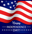 independence day july 4th usa american holiday vector image