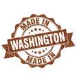 Made in washington round seal