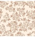 Vintage decorative floral seamless texture vector image vector image