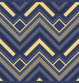 abstract zigzag pattern in luxury colors vector image vector image