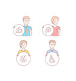 basketball serum oil and mint tea icons disabled vector image