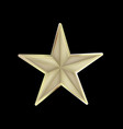 festive star isolated icon vector image vector image