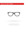 glasses icon for web business finance and vector image vector image