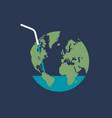 global water crisis vector image vector image