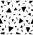 Hand Drawn Retro Seamless Pattern vector image vector image