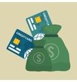 Money design Business icon Financial item vector image