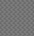 Monochrome pattern with many intersecting circles vector image