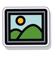 picture photo isolated icon vector image