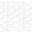 seamless linear pattern in gray color vector image vector image