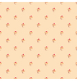 Seamless pattern or texture with muffin cupcakes vector image vector image