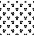 shirt with print pattern vector image vector image