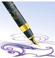 Handmade art vector image