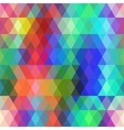 Abstract hipsters seamless pattern with colored vector image vector image