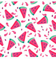 summer seamless pattern seamless background with vector image vector image