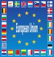 Europe Patriotic Blue Luxembourg Patriot Republic vector image