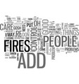 adult add are you a fire fighter text word cloud vector image vector image