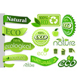Eco Banners and Icons