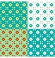 Graphic Flowers Seamless Pattern vector image vector image