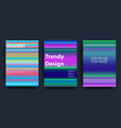 minimal covers design cool gradients vector image vector image