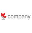 modern furniture company logo vector image