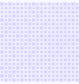 purple heart pattern seamless vector image vector image