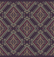seamless decorative ethnic pattern american vector image