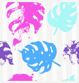 trendy seamless pattern with pastel vector image vector image