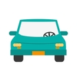 car frontview icon vector image vector image