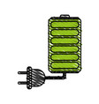 charge battery vector image
