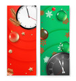 christmas banners template advertising banners vector image