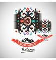 colorful tribal navajo style ornamental vector image vector image