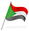 flag of Sudan vector image